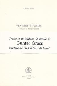 Ventisette Poesie - Libri - IoCiSto Libreria